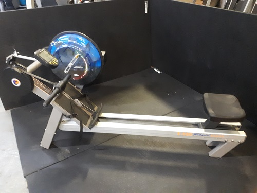 Fluid Water Rowing Machine