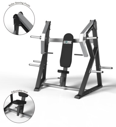 Core Plate Loaded Flat Chest Press