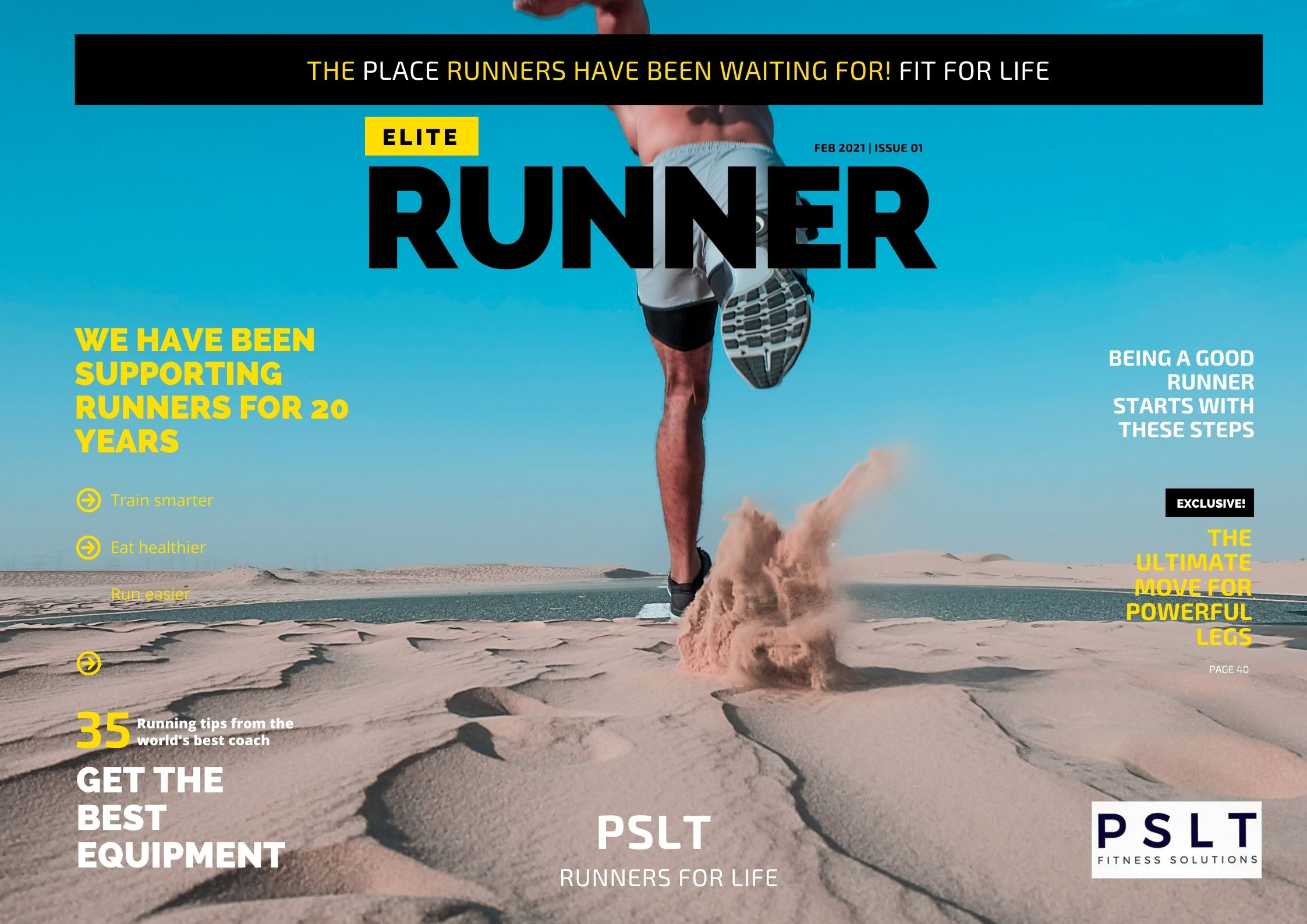 Run with PSLT - The home of runners - Elite runners