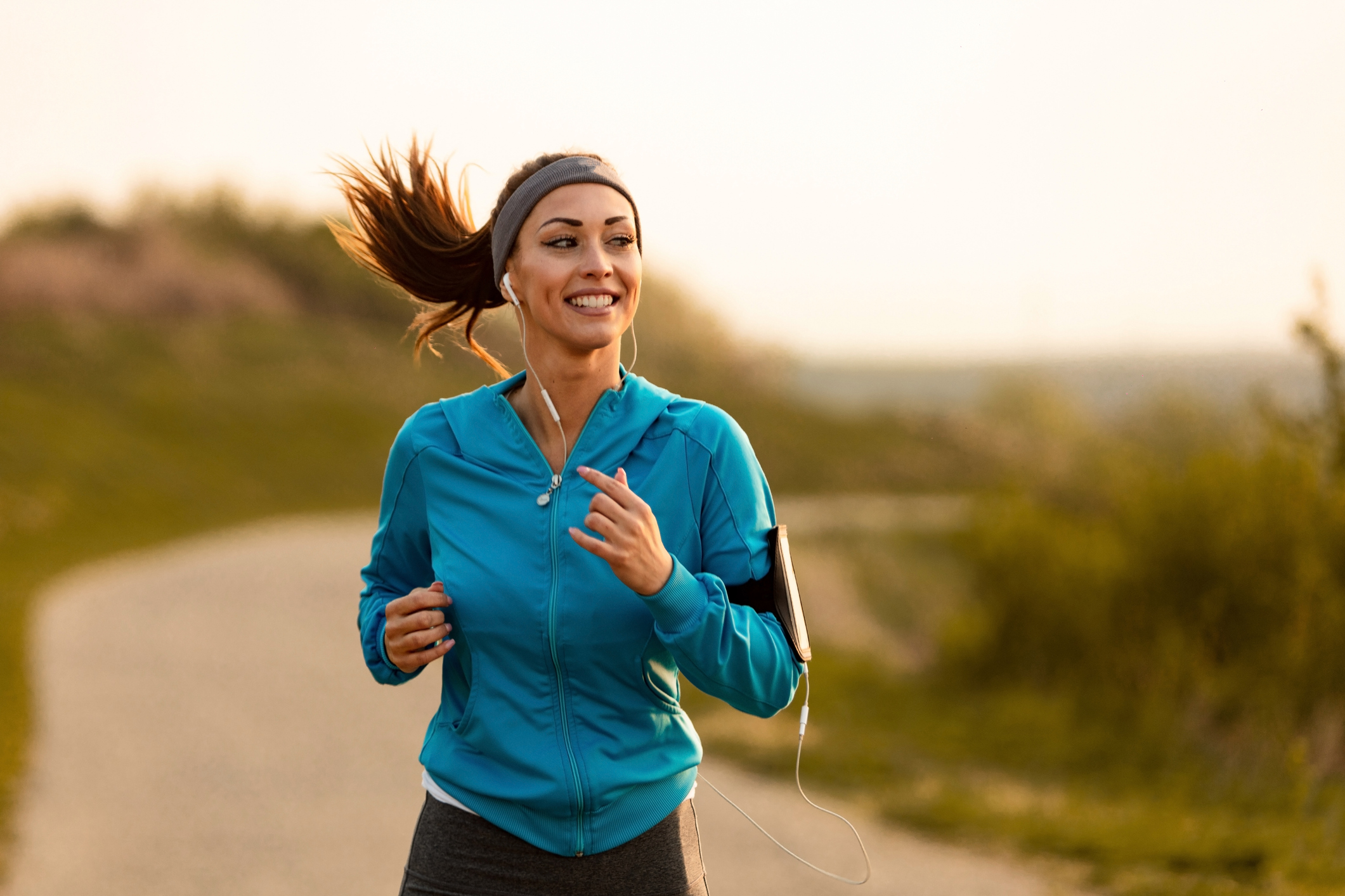 A balanced diet and regular-exercise will improve your health for the future